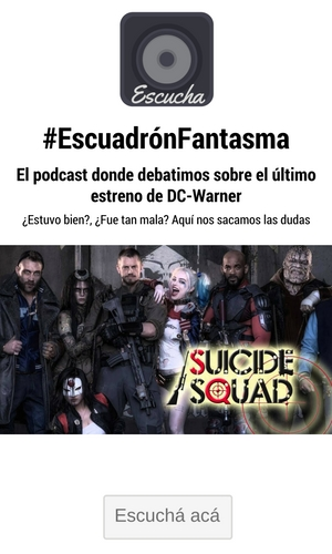 Podcast Suicide Squad