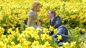Big Fish (2003) Directed by Tim Burton Shown: Alison Lohman (as young Sandra), Ewan McGregor (as young Edward Bloom)