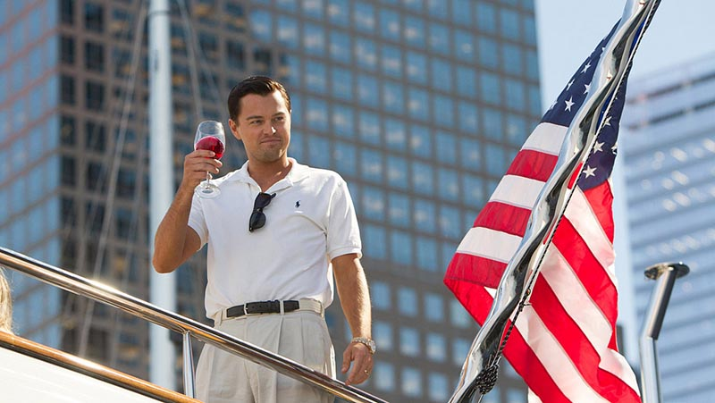 Leonardo DiCaprio, en 'The Wolf of Wall Street'.